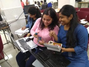 IoT workshop for IIT Delhi students