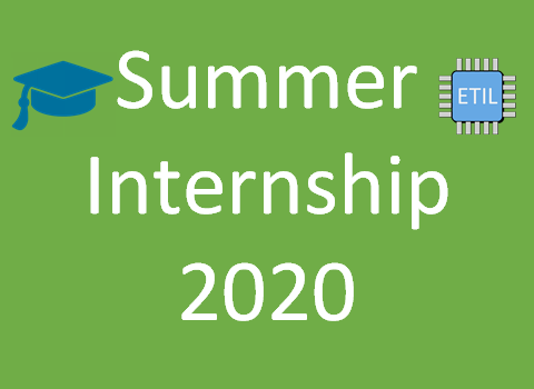 Summer Internship 2020 – ETI Labs